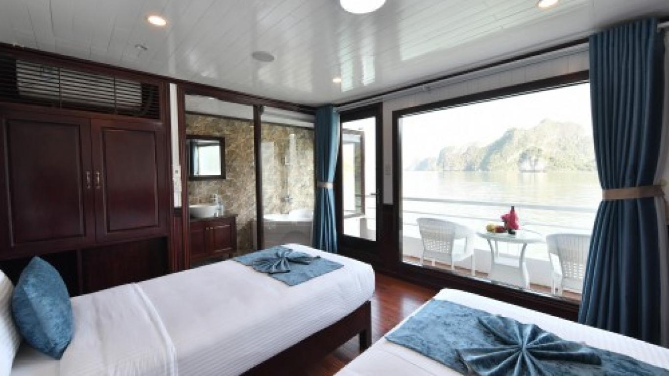 Sapphire Cruise Twin cabin